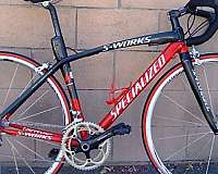 red-racing-bicycle